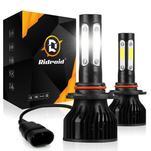 4 Sides 9005 Hb3 Led Headlight Bulbs High Beam 6000k Bright White Conversion Kit