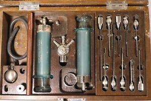 Antique Medical Whole Blood Transfusion Device 1929 The Scannell Apparatus