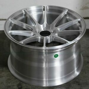 18x9 18x10 Brushed Forged Wheels Xxr 527f 5x114 3 35 40 Set Of 4