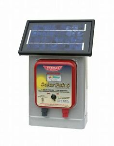 Parker Mccrory Df sp li 6v Solar battery Operated Electric Fence Charger