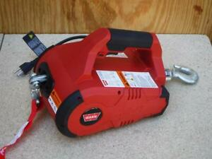 New Warn 885000 Pullzall Portable Hand Held Corded Electric Winch Pulling Tool