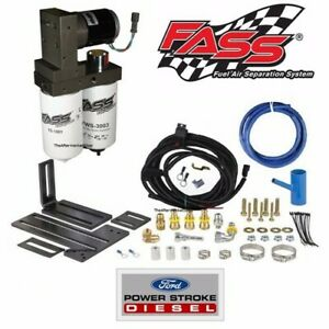 Fass Ts F14 140g Signature Titanium Fuel Pump Kit 99 07 Ford Powerstroke Diesel