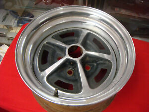 1969 1973 Mustang 14 X 7 Magnum 500 Wheel Chrome Ford Rim 5 Lug Fastback
