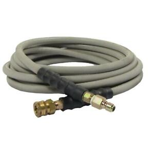 Simpson Wrapped Hose Quick Connect Couplers 50 Feet Pressure Washer Accessory