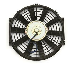 Two 2 Proform Parts Electric Fan Single 12 Diameter Reversible Black Kit