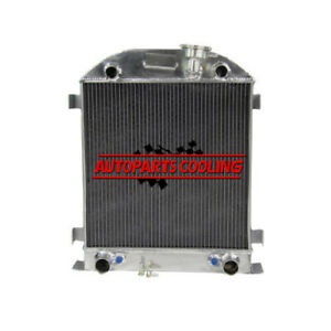4row Aluminum Radiator For 1928 1929 Ford Model A Flathead Engine At Mt