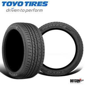 2 X New Toyo Proxes 4 Plus 205 40 17 84w Ultra High Performance Tire