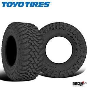 2 X New Toyo Open Country M t 33 12 5r20 119q Mud Terrain Tire