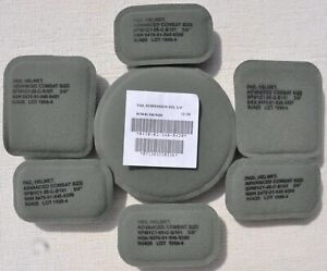 ACH Advanced Combat Helmet Suspension System Pads 8470-01-546-9420 Military New