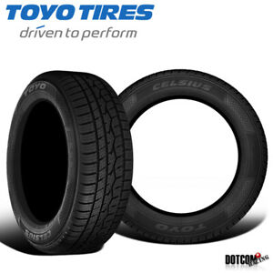 2 X New Toyo Celsius Pcr 205 55r16 91h All season Traction Tire
