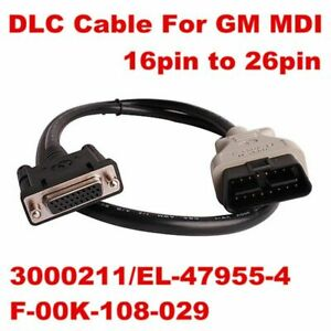 Gm Mdi Main Cable Obd Ii Interface Mdi Obd2 Cable Main Test Cable For Car Md New