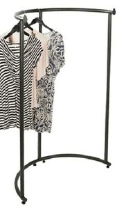 Half Round Clothing Rack Pipeline Collection Vintage Garment 37 1 2 X 55