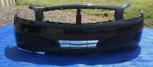 2007 2008 Infiniti G35 Sedan Front Bumper Cover Oem Black Color