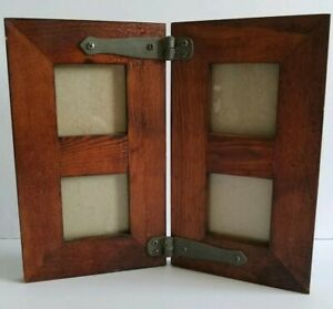 Arts Crafts Mission Style Solid Wood Vintage Picture Frame