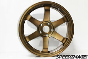 Rota Grid Wheels Sports Bronze 18x9 5 20 5x114 3 Evo 8 9 X 240sx S14 350z G35
