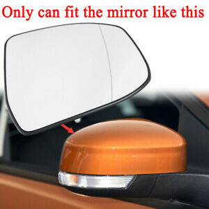1 X Driver Right Side Wing Mirror Glass Rearview Heated For Ford Focus 2012 2014