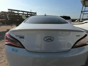 Trunk hatch tailgate Coupe With Spoiler Fits 09 16 Genesis 394738