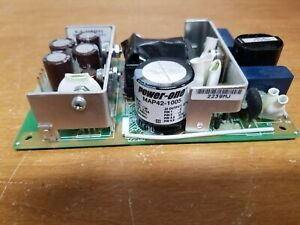 Used Power one Map42 1005 Power Supply 120vac To 5vdc 8a Input Range 90 264 Ac