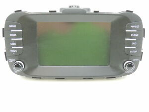 17 19 Kia Soul Satellite Mp3 Bluetooth Player Radio Stereo Oem