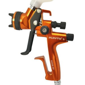 Jet5000b Hvlp Digital 1 3mm Base Coat Paint Spray Gun 600ml Cup Germany Quality