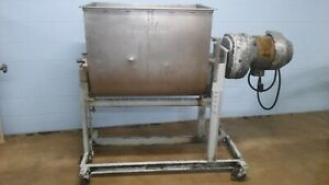Used Butcher Boy Jacketed Powerful Ribbon Blender Mixer 30 Food Grade