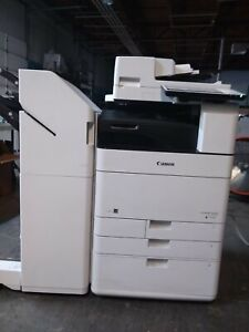Canon Imagerunner Advance C5550i Color Network Mfp Copier W high Capacity Cfu