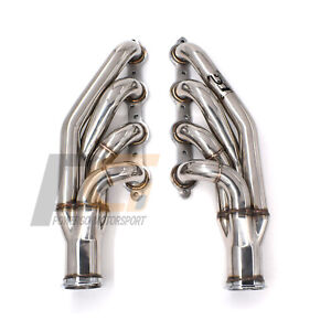 Turbo Headers 1 3 4 Up Forward 304 S S For Chevy Ls1 Ls2 Ls3 Ls6 Lsx V8 Engines
