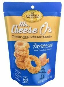 Mr Cheese O s Parmesan 1 Ounce 18 Pack