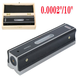 8 Master Precision Level In Fitted Box For Machinist Tool 0 0002 10