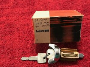 Nos 70 Ford Ltd Mustang Torino Key Cylinder Assembly