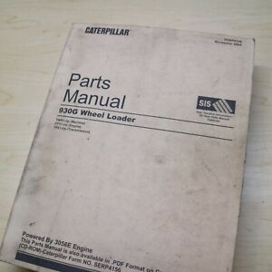 Cat Caterpillar 930g Wheel Loader Spare Parts Book Manual Twr Series Front End