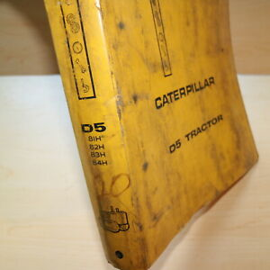 Cat Caterpillar D5 Tractor Dozer Crawler Service Manual Repair Shop Owner Book