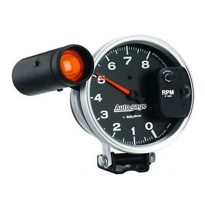 Auto Gage Monster Shift Lite Tachometer 0 8 000 5 Dia Black Face 233905