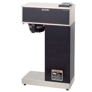 Bunn 33200 0010 Vpr aps Pourover Airpot Coffee Brewer Stainless And Black