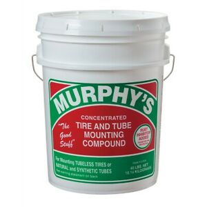 Murphy S Tire And Tube Mounting Compound Lube 40 Lb Pail New Free Shipping Usa