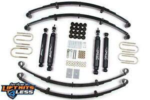 Zone Offroad J27n 2 Suspension Lift Kit For 1987 1995 Jeep Wrangler yj