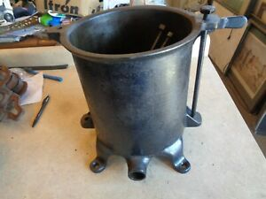 Enterprise 8 Qt Tank Sausage Stuffer Lard Fruit Wine Cider Press Jug Tub