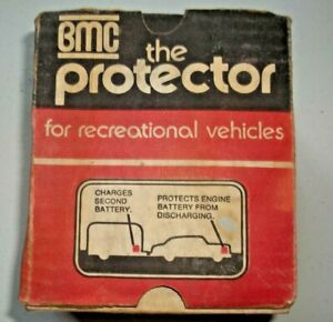 Bmc The Protector Ii Dual Battery Accessory Vintage New Old Stock