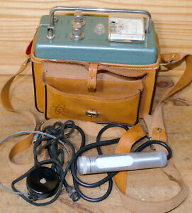 Vintage Research Manufacturing The Mojave Geiger Counter Radiation Detector