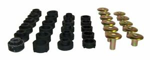 Fits Jeep Wrangler Tj 97 06 Blackzinc Body Mount Bushings 55176180k