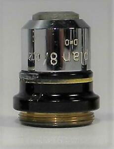 Zeiss Epiplan 8x Objective From Ultraphot 8 0 2