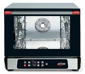 Axis Ax 514rhd Digital Convection Oven Countertop 1 2 Size Humidity Controls