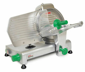 Primo Ps 10 Meat Slicer 10 Blade Removable Carriage Ring Guard