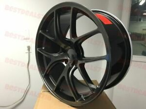 Set Of Four 20 Staggered F Style Rims Wheels Metallic Rims Fits Honda