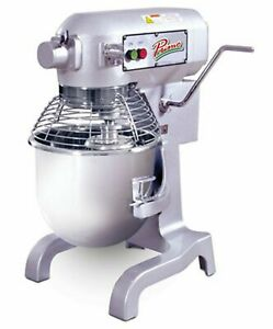 Mvp Primo Pm 20 Planetary Meat Mixer 20 Qt Capacity Bench Model Gear Driven