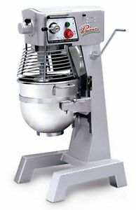 Mvp Primo Pm 30 Planetary Meat Mixer 30 Qt Capacity 3 Speed Gear Driven
