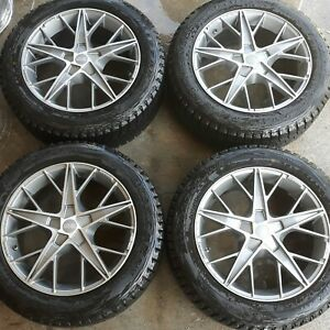 4 18 Oz Quaranta Wheels 5x114 3 Rare Rims 18x8 45 Set Made In Italy 5 Star