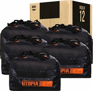 Cargo Bag Top Roof Carrier Rooftop Car Waterproof Bag In Pack Of 12 Utopia Home