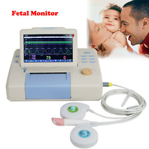 Fetal Monitor Color 3 Parameters Single Fhr Toco Touch Screen Wtih Printer Fda