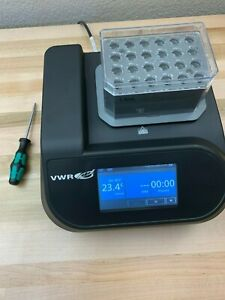 Vwr Cooling Thermal Shake Touch 1 5ml Block tray No 89232 904 Thermomixer R C